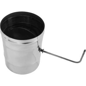Шибер 430/0.8 мм D150