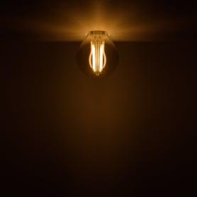 Лампа светодиодная Gauss Filament Globe E14 5 Вт 400 Лм свет тёплый белый