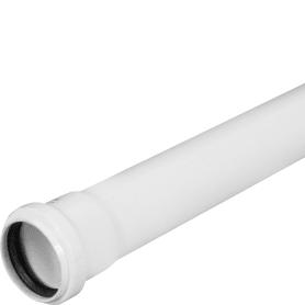 Труба канализационная c шумопоглощением Ø 50 мм L 1м полипропилен