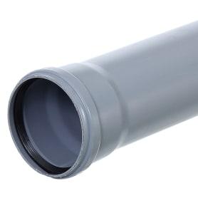 Труба канализационная Ø 110 мм L 3м полипропилен