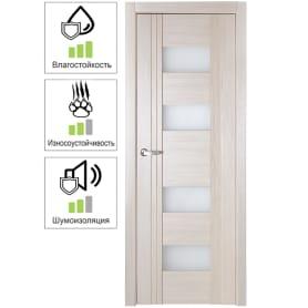 Дверь межкомнатная остеклённая Селект 60x200 см