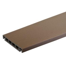 Террасная доска ITP 26x3000x162 мм ДПК 0.486 м² цвет вишня