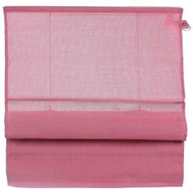 Штора римская «Натур», 160х160 см, цвет розовый
