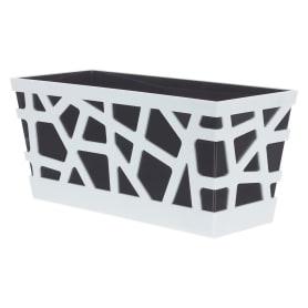 Ящик балконный «Мозаика», цвет антрацит