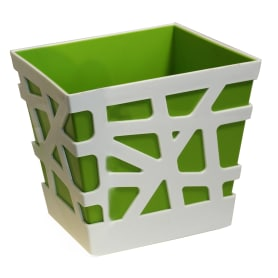 Кашпо «Мозаика» 3 л, 170х170х190 мм, цвет зелёный