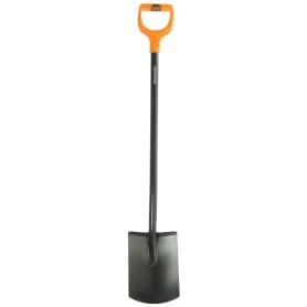 Лопата штыковая прямоугольная Fiskars SolidTM 116 см, сталь