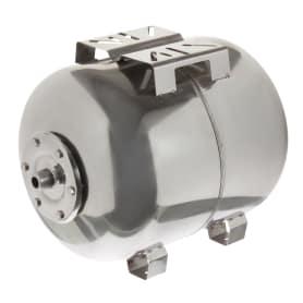 Гидроаккумулятор горизонтальный 50 л, фланец нержавеющая сталь