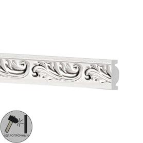 Молдинг настенный полистирол Decomaster белый 157-60 1.4х3х200 см