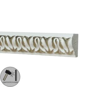 Молдинг настенный полистирол Decomaster 103C-60 белый 1х2х200 см