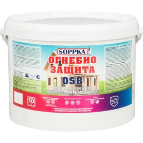 Огнебиозащита Soppka для OSB для наружных и внутренних ОСБ 10 кг