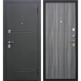 Дверь входная металлическая Гарда Муар 860 мм, правая, цвет венге тобакко