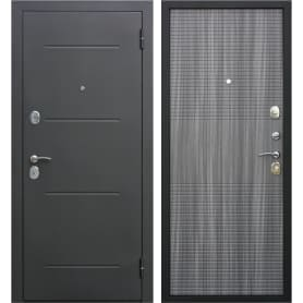 Дверь входная металлическая Гарда Муар 960 мм, правая, цвет венге тобакко