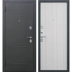 Дверь металлическая Гарда муар 960 мм левая, цвет дуб сонома