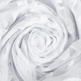 Тюль «Вензель» 1 п/м 280 см цвет белый