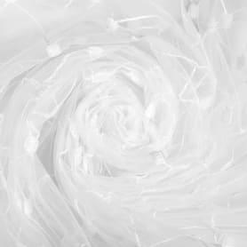 Тюль «Ромб» вышивка 285 см цвет белый