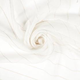 Тюль «Полосы» 280 см цвет белый