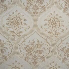 Ткань жаккард «Луиза» 280 см цвет бежевый