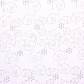 Тюль «Каролина» вышивка на сетке 280 см цвет бежевый