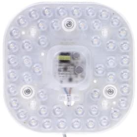 Модуль светодиодный квадратный на магнитах с драйвером 24 Вт 1680 Лм, свет нейтральный