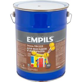 Эмаль ПФ-115 Empils PL 5 кг цвет коричневый