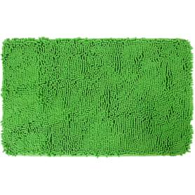 Коврик для ванной комнаты «Cingolo» 50х80 см цвет зелёный