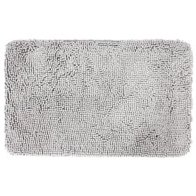 Коврик для ванной комнаты «Cingolo» 50х80 см цвет серый