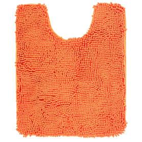 Коврик для туалета «Cingolo» 50х60 см цвет оранжевый