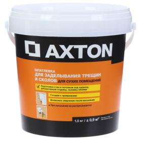 Шпатлевка для трещин для сухих помещений Axton 1.5 кг