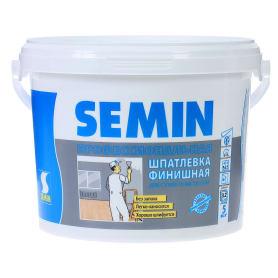 Шпатлевка финишная для сухих помещений Semin 5 кг