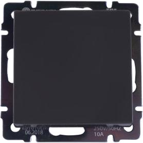 Выключатель WL07-SW-1G-C 1 клавиша цвет коричневый