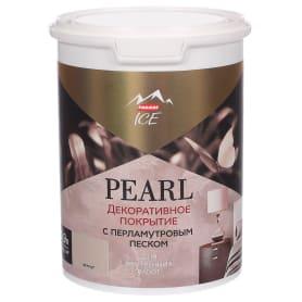 Декоративное покрытие Parade Ice Pearl с эффектом перламутрового песка цвет жемчуг 0.9 л