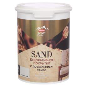 Декоративное покрытие Parade Ice Sand с эффектом песчаной дюны цвет лунный камен 0.9 л