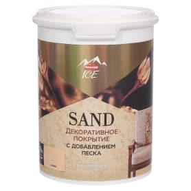 Декоративное покрытие Parade Ice Sand с эффектом песчаной дюны цвет оникс 0.9 л