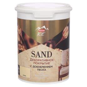 Декоративное покрытие Parade Ice Sand с эффектом песчаной дюны цвет янтарь 0.9 л
