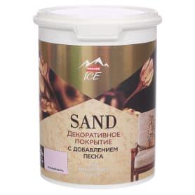Декоративное покрытие Parade Ice Sand с эффектом песчаной дюны цвет розовый кварц 0.9 л