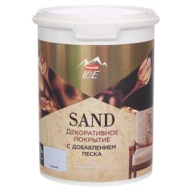 Декоративное покрытие Parade Ice Sand с эффектом песчаной дюны цвет лазурит 0.9 л