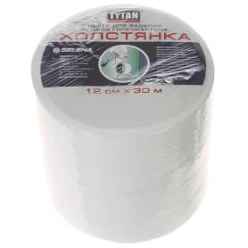 Лента для заделки стыков 12 см х 30 м цвет белый