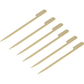 Шпажки из бамбука, длина 15 см, 110 шт
