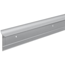 Профиль пристенный ALK0011 300 см, алюминий, цвет серебро