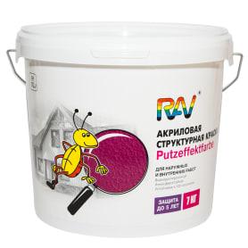 Краска для стен Jobi «Putzeffektfarbe», с эффектом декоративной штукатурки, 7 кг