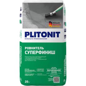 Ровнитель для пола Plitonit Суперфиниш 20 кг