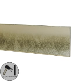 Молдинг настенный Decomaster D046-373 25х8х2000 мм цвет серебристый