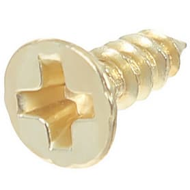Саморез декоративный 5х4 мм, цвет золото, 50 шт.