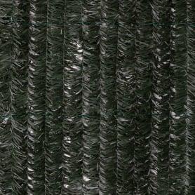 Изгородь декоративная 3x1 м ПВХ цвет зелёный