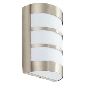 Светильник ЖКХ Montreal 40 Вт IP44, накладной, полукруглый, цвет белый/хром