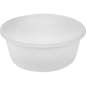Таз круглый, 8 л, цвет белый