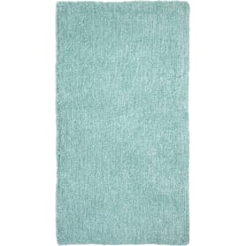 Ковёр, лавсан, цвет бирюзовый, 0.8х1.5 м