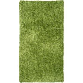 Ковёр, лавсан, цвет зелёный, 0.8х1.5 м