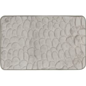 Коврик для ванной Grampus 80х50 см цвет серый
