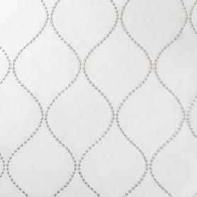 Тюль 1 п/м «Виладжи», вышивка, 295 см, цвет бежевый